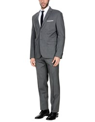 Exibit Suits Grey