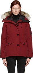 Canada Goose Red Down Montebello Parka