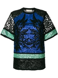 Elie Saab Sequin Embellished Blouse Multicolour