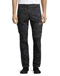Superdry Camouflage Cargo Pants Black