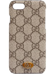 Gucci Ophidia Iphone 8 Case Brown