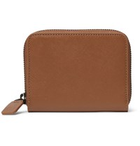 Common Projects Cross Grain Leather Wallet Brown