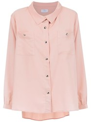 Olympiah Isola Shirt Pink And Purple