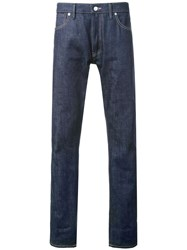 Bedwin And The Heartbreakers Denim Style Regular Trousers Blue
