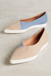 All Black Vivi Suede Slip Ons Taupe