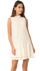Cooper And Ella Pico Stitch Alyson Dress Ivory