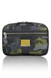 Tumi Alpha Bravo Reno Travel Kit Green Camo