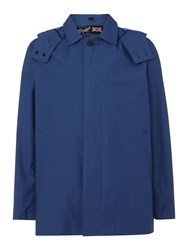 Gloverall Men's Car Coat French Navy
