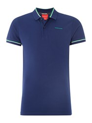 Bjorn Borg Sand Short Sleeve Polo Navy