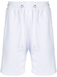 Gcds Side Logo Stripe Track Shorts White