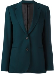 Paul Smith Button Blazer Green