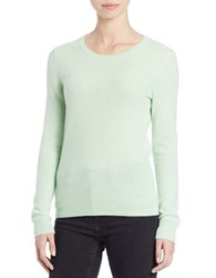 Lord And Taylor Basic Crewneck Cashmere Sweater Fiji Green
