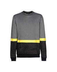 Iuter Topwear Sweatshirts Men Grey