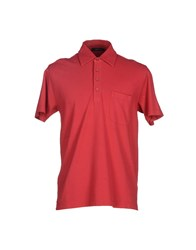 Zegna Sport Polo Shirts Red
