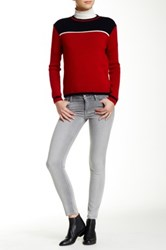 Genetic Denim Daphne Skinny Crop Pant Gray