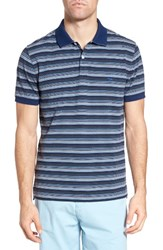 Rodd And Gunn Men's Macdonald Downs Sports Fit Stripe Pique Polo