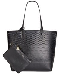 Tommy Hilfiger Laura Double Sided Extra Large Tote Black