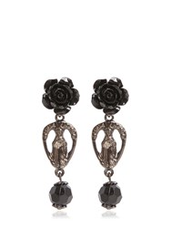 Givenchy Rosario Rose Earrings