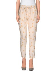 Vicolo Trousers Casual Trousers Women Light Yellow