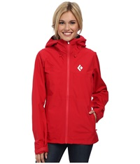 Black Diamond Liquid Point Shell Rose Red Women's Jacket Pink