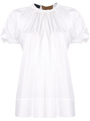 Eudon Choi Summers Gathered Blouse 60