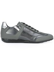 Bikkembergs Panelled Sneakers Grey