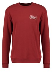 Brixton Palmer Sweatshirt Brick Red Metallic