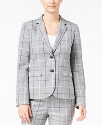 Tommy Hilfiger Classic Plaid Blazer Heather Multi