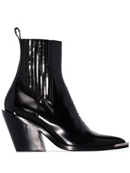 Paco Rabanne Chelsea 80Mm Boots Black
