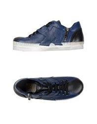 O.X.S. Low Tops And Trainers Dark Blue
