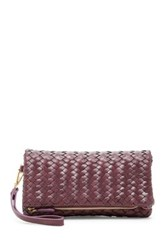 Urban Expressions Dixie Faux Leather Wristlet Clutch Red