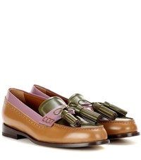 Etro Leather Loafers Multicoloured