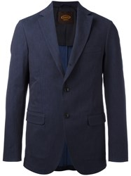 Tod's Denim Blazer Blue