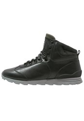 Clae Robinson Hightop Trainers Black Concrete