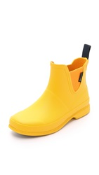 Tretorn Eva Lag Rain Booties Yellow