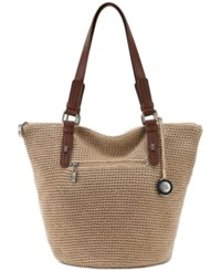 The Sak Silverwood Crochet Tote A Macy's Exclusive Style Bamboo