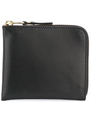 Comme Des Garcons Wallet Zipped Wallet Unisex Leather One Size Black