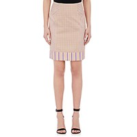 Philosophy Di Alberta Ferretti Women's Mixed Pattern Jacquard Pencil Skirt Size 0 Us No Color
