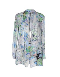 Manila Grace Suits And Jackets Blazers Women Light Grey