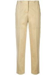 Ermanno Scervino Front Pockets Trousers Neutrals