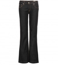 Rag And Bone Flared Jeans Black