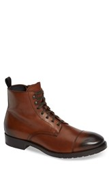 To Boot New York Concord Cap Toe Brown Leather