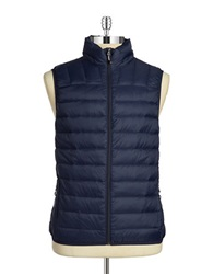 Hawke And Co Packable Puffer Vest Navy