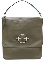 J.W.Anderson Jw Anderson Jw Anderson Hb01018d Khaki Furs And Skins Calf Leather Green