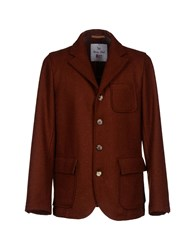 Roy Rogers Roy Roger's Suits And Jackets Blazers Men Brick Red