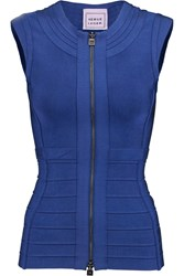 Herve Leger Veleka Bandage Top Blue