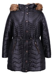 Evans Winter Coat Black