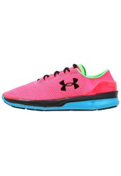 Under Armour Speedform Turbulence Lightweight Running Shoes Harmony Red Dynamo Blue Black Pink