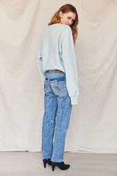 Urban Renewal Remade Levi's Sliced Pocket Reconstructed Jean Indigo