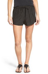 Junior Women's Bp. Woven Print Shorts